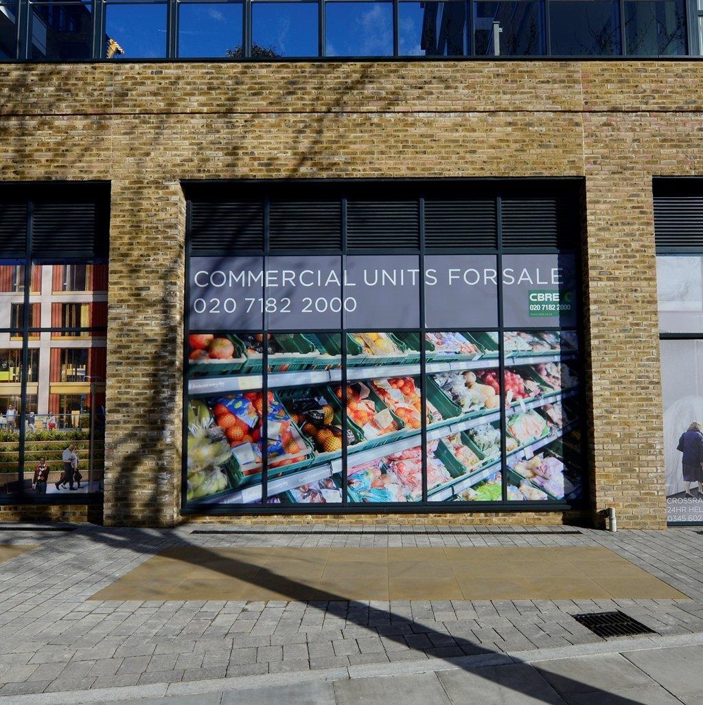 cbre-building-refurbishment-cover-uk-contra-vision-perforated-vinyl