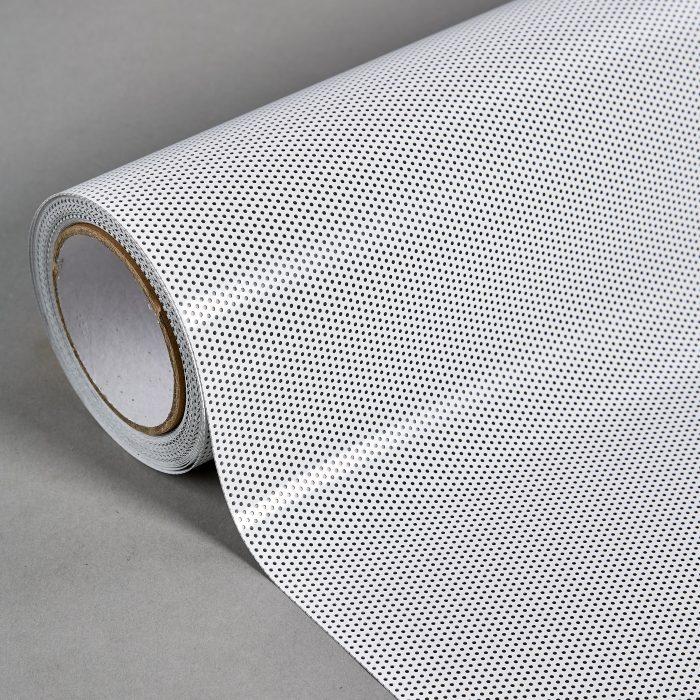 Roll Close White On Black 20% 0