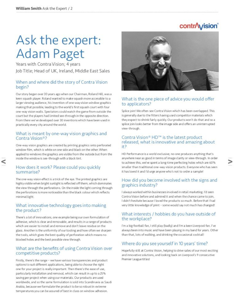 Ask the Expert…