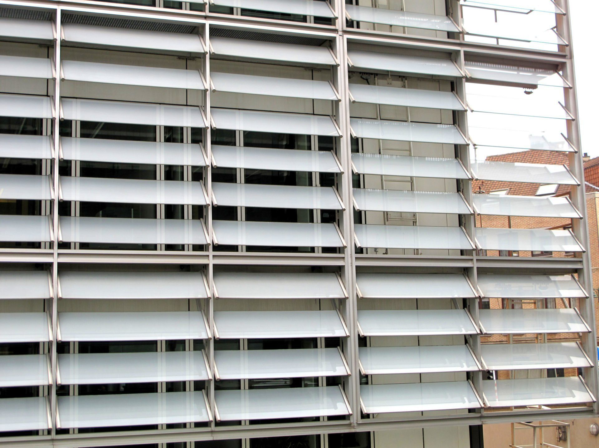 One way vision glass at the berlaymont the european commission brussels