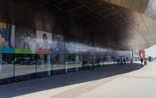 millenium-centre-uk-contra-vision-perforated-window-film