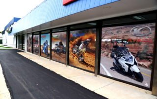 montgomeryville-cycle-centre-contra-vision-window-advertising