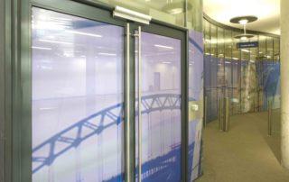 newcastle-university-one-way-window-signs