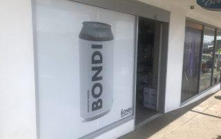 Retail Window Wrap Bondi