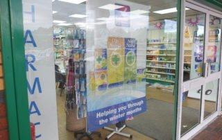 pharmacy-poster-one-way-window-signs