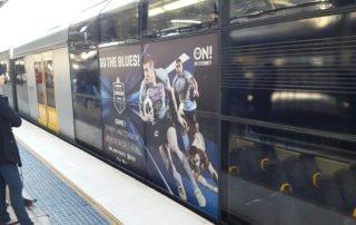 Sydney Tangara Train Wrap