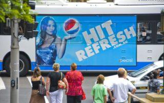 Sydney Bus Billboard Perf 2