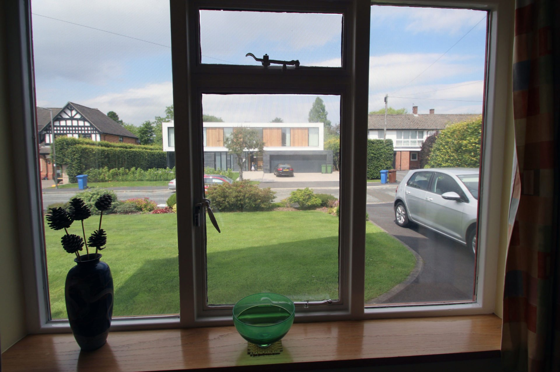 Privacy at home - inside window