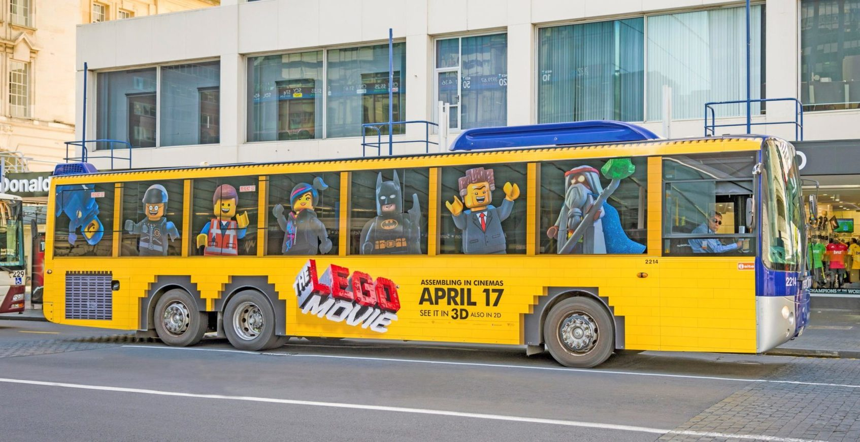 Lego Total Bus Wrap