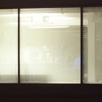 One way window film that works at night