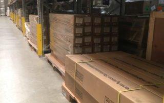 European Warehouse Expansion Yusen Logistics perforated window film
