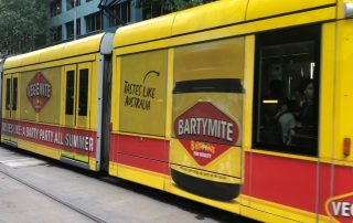 Contra Vision Melbourne Tram Marmite 2
