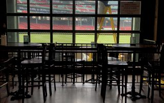 Bleacher Bar Boston Usa Window Graphics