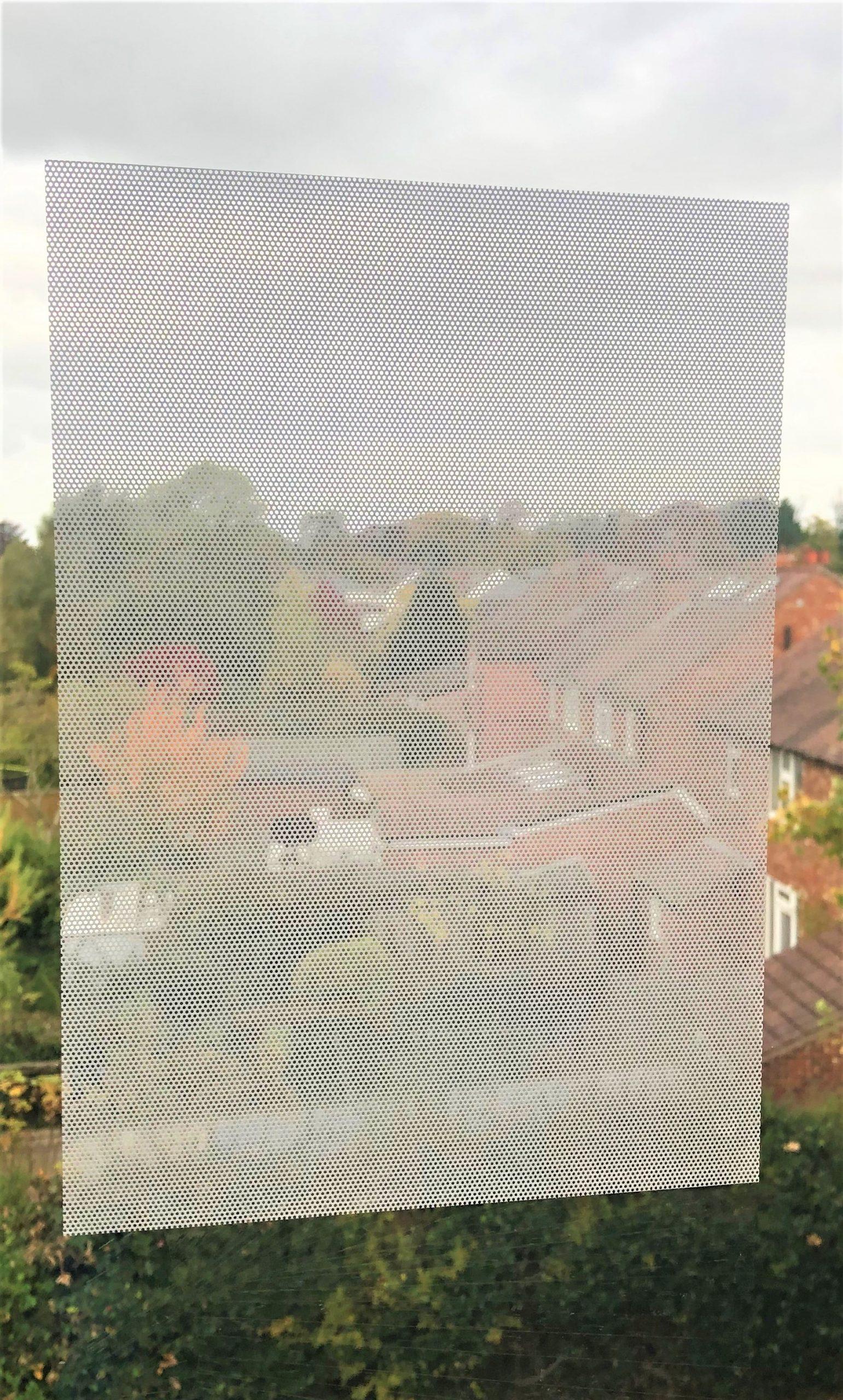 White Print Pattern See Through (2)