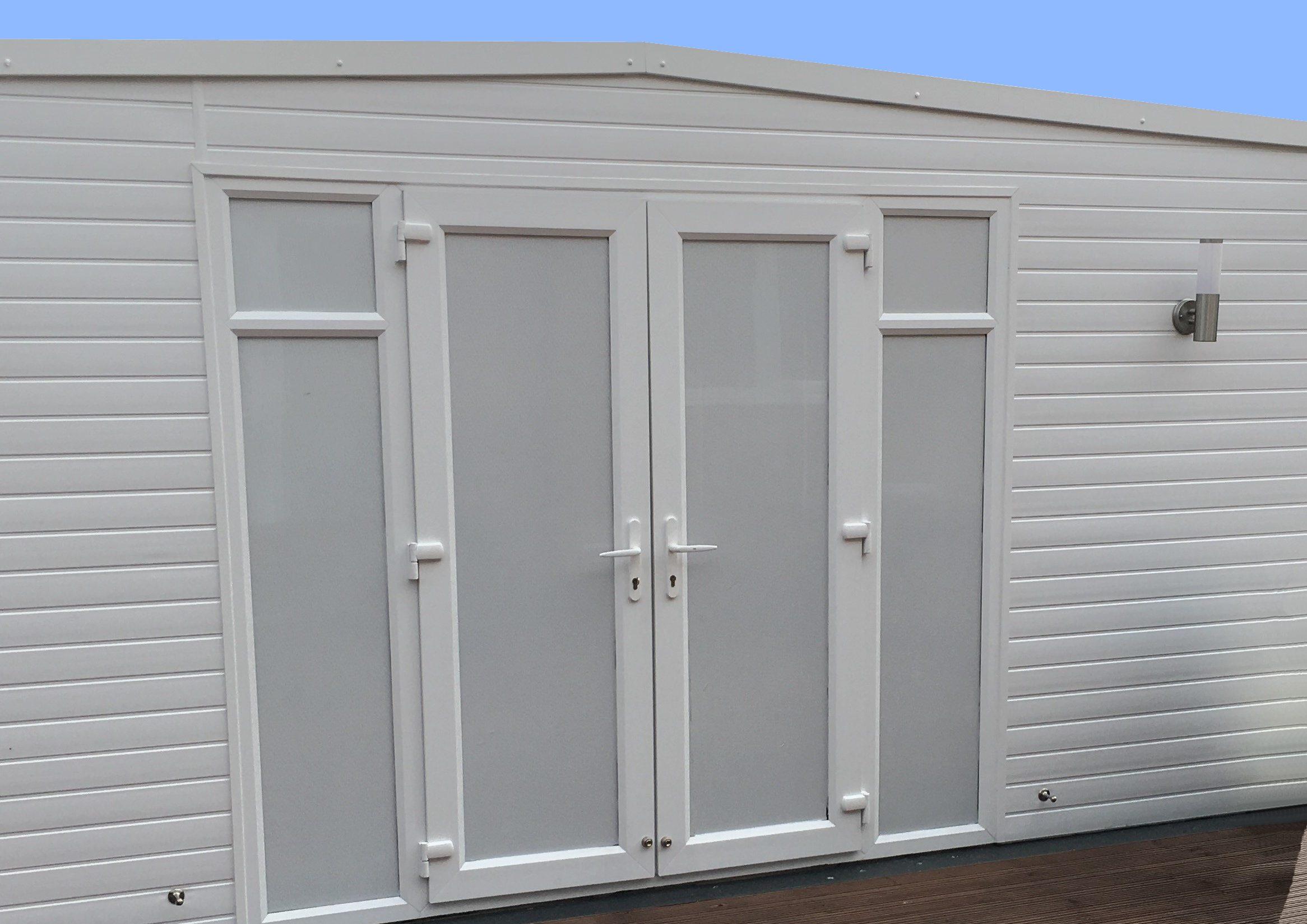 White one way privacy window film