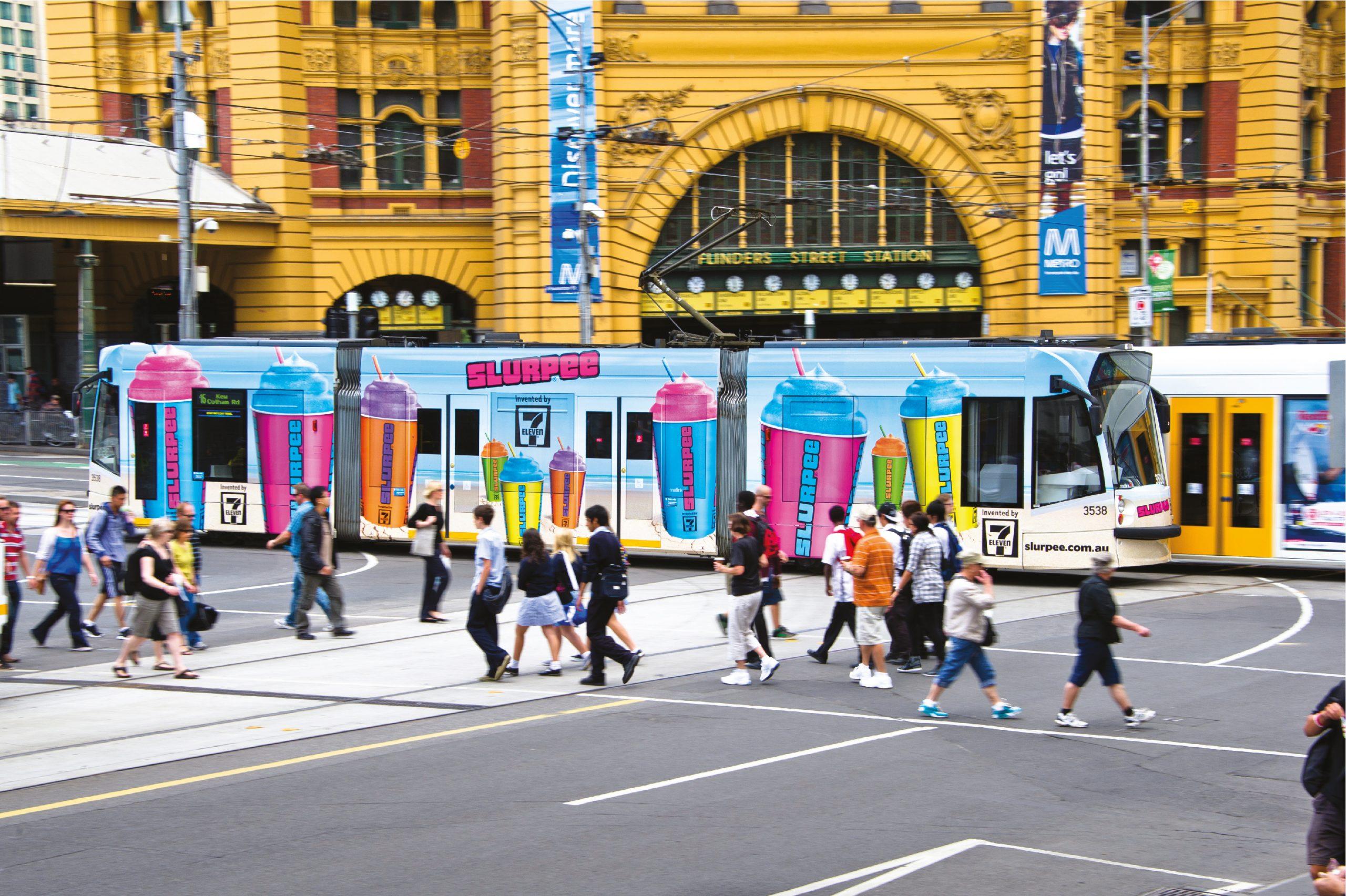 7 ELEVEN Full Tram Wrap