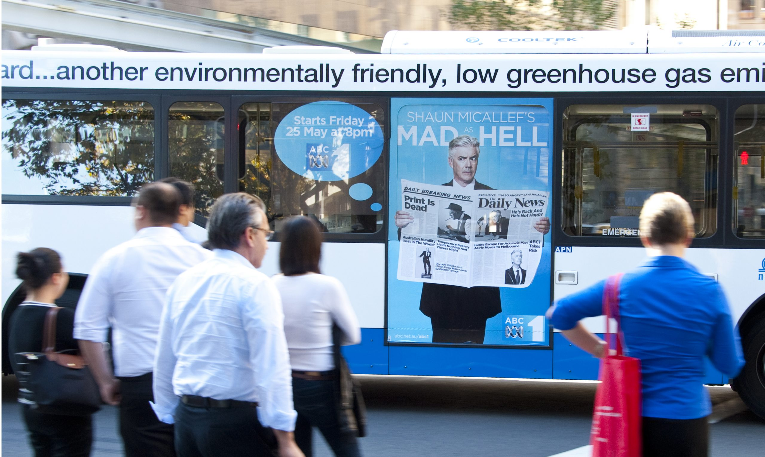 Environmental Benefits Of Contra Vision On Buses