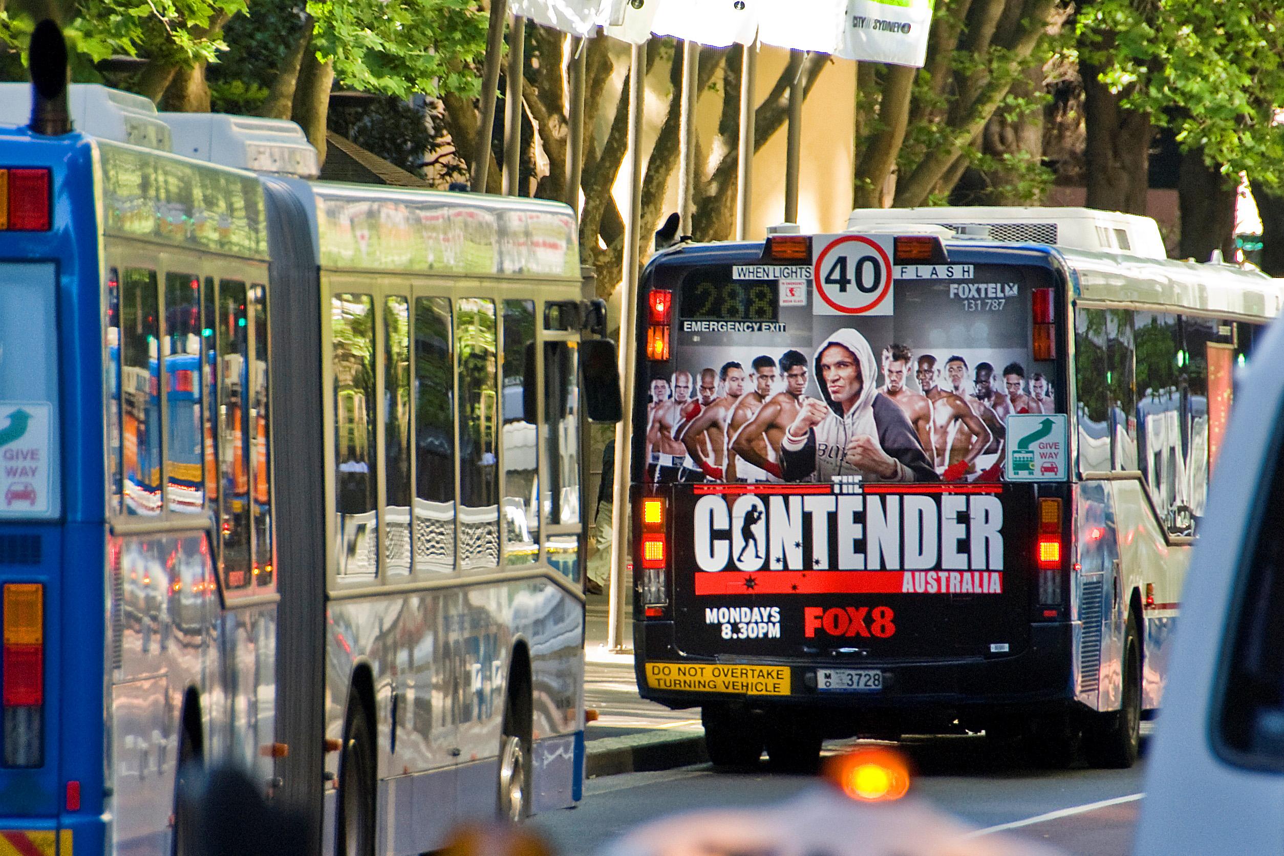 Mega Rear Window Bus Wrap