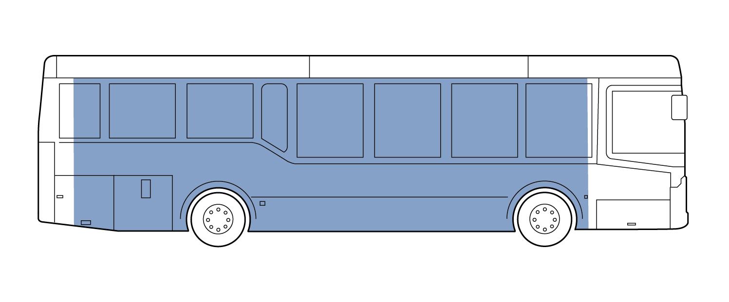 Mega Side Bus Wrap