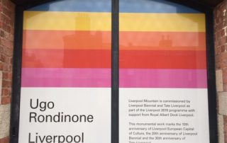 Liverpool Tate Micro-perforated window film