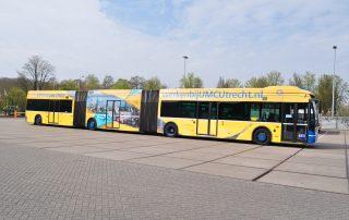 University Of Utrecht Bus Branding Window Graphics