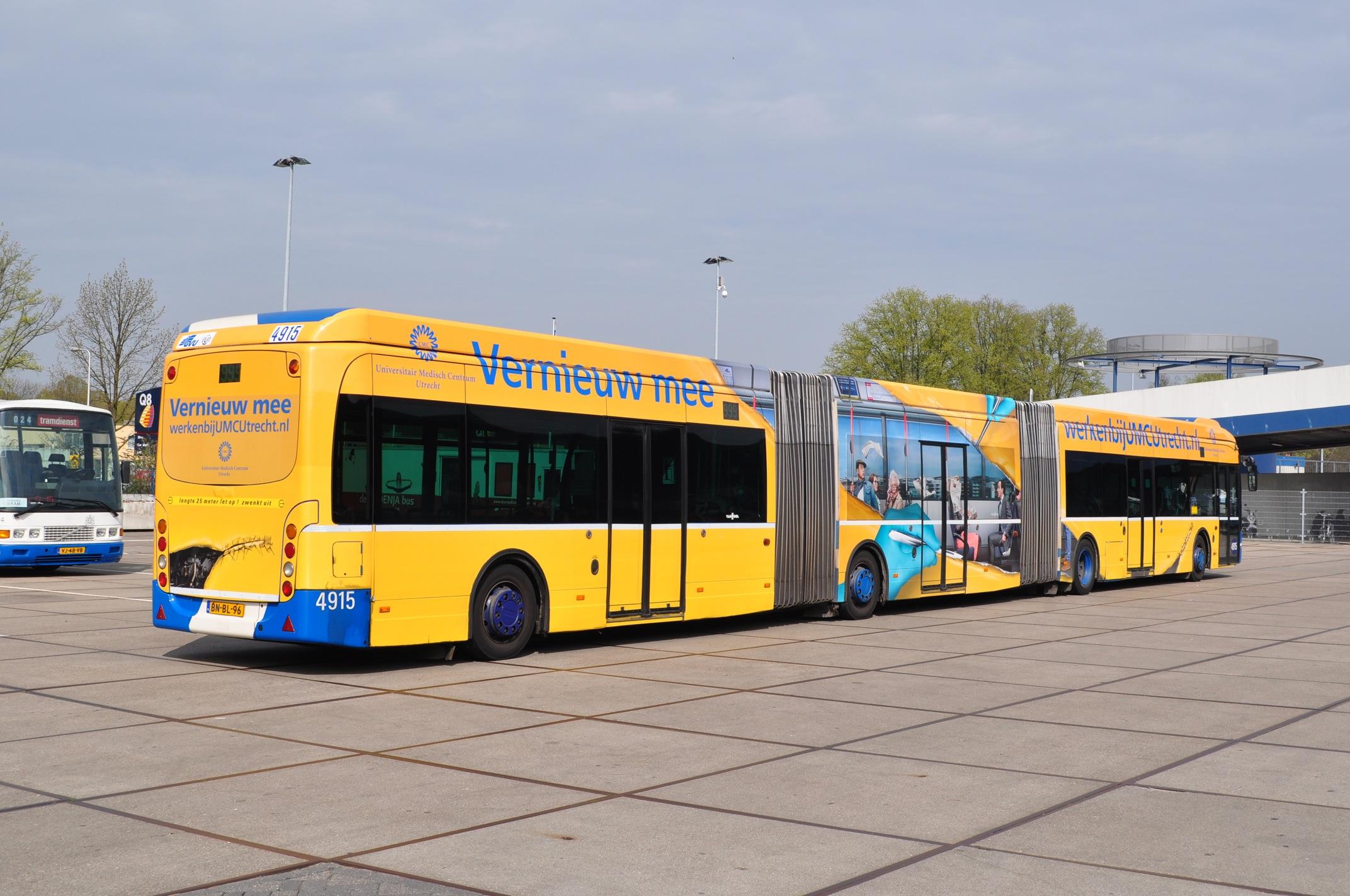 University Of Utrecht Bus Branding Window Perf