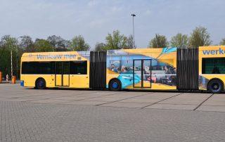 University Of Utrecht Bus Branding One Way Vision Window Film