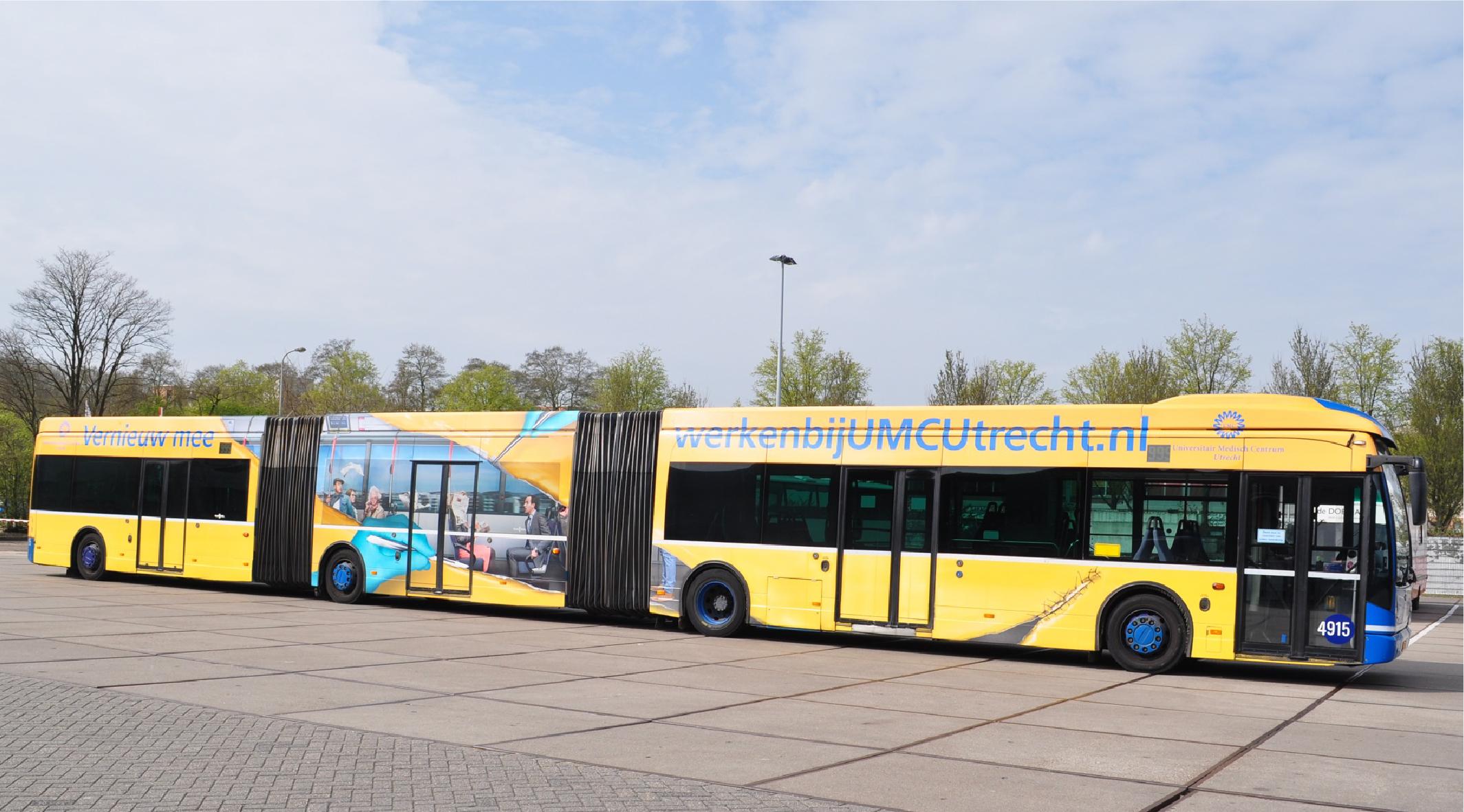 Utrecht Bus Wrap
