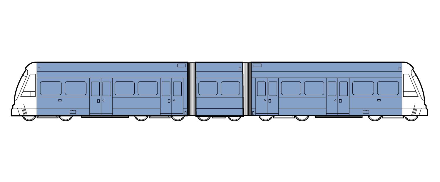 Full Train Wrap