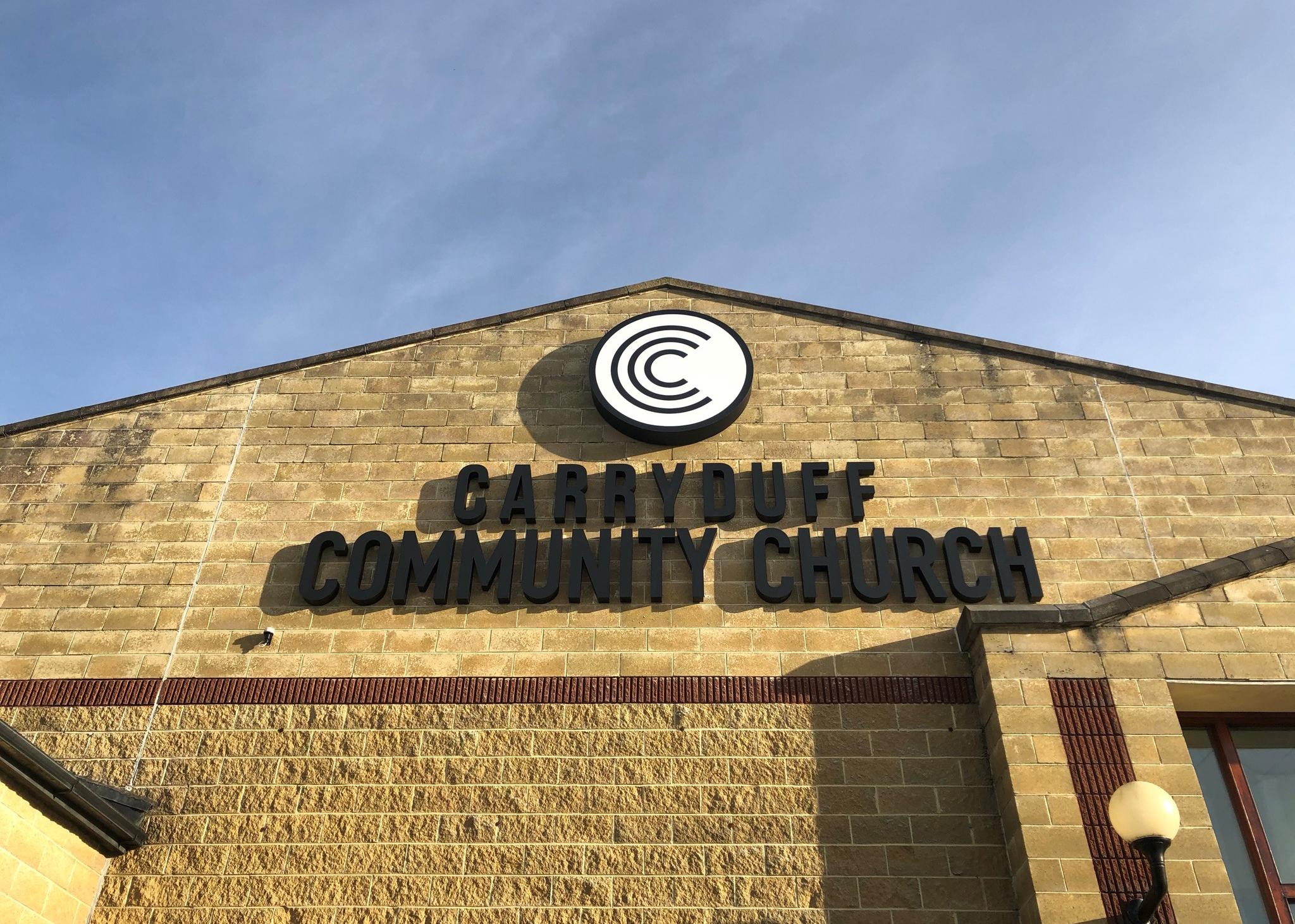 Carryduff Church Black On Black4