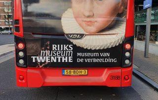 PPP Nederland De Museumfabriek WB 20 Bus Rear Window Wrap