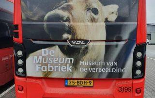 PPP Nederland De Museumfabriek WB 20 Bus Wrap
