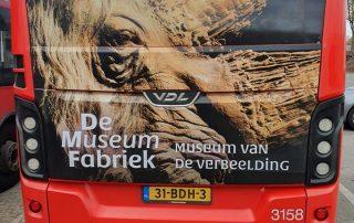 PPP Nederland De Museumfabriek WB 20 Transit Advertising