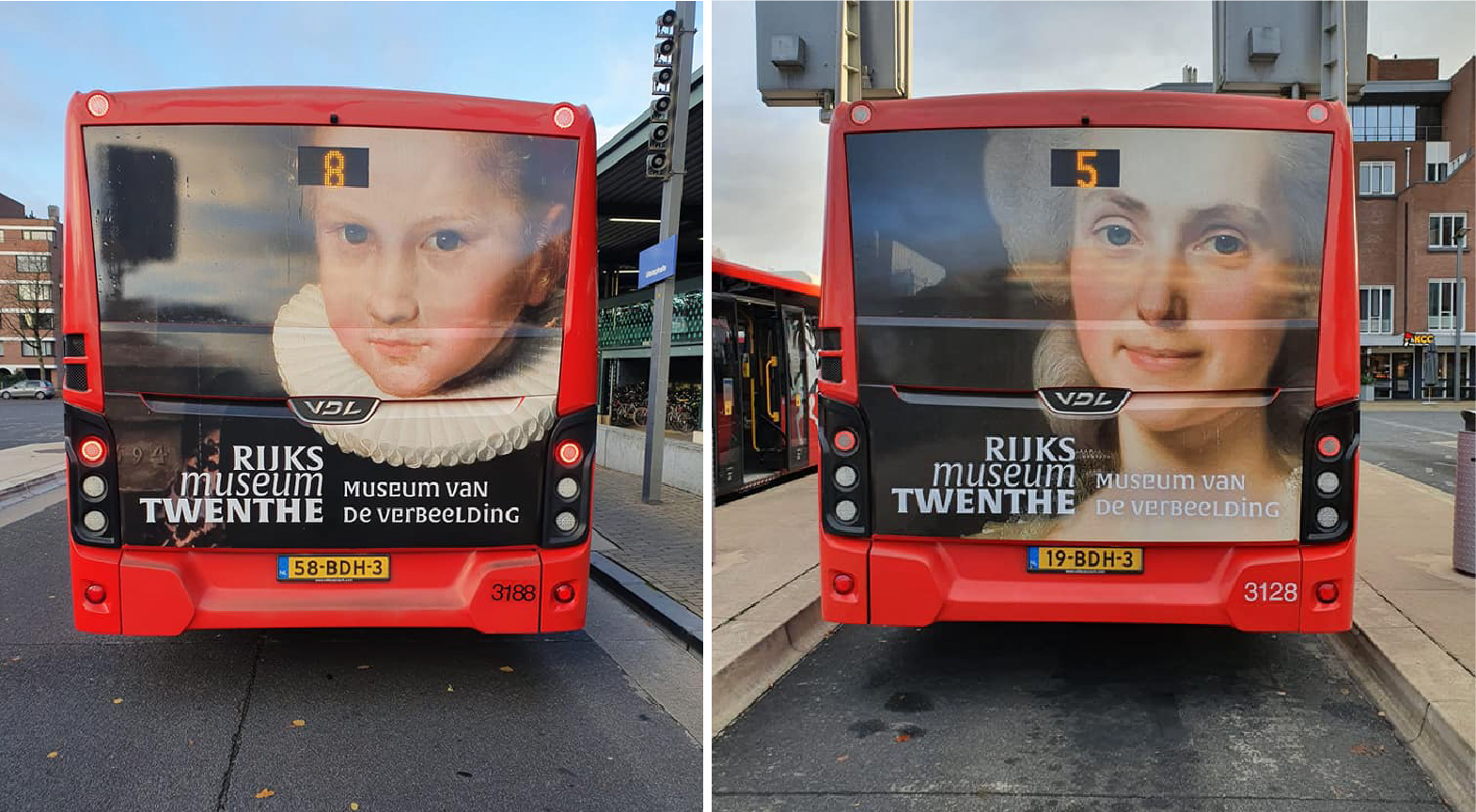 Rijks Museum Promotional Bus