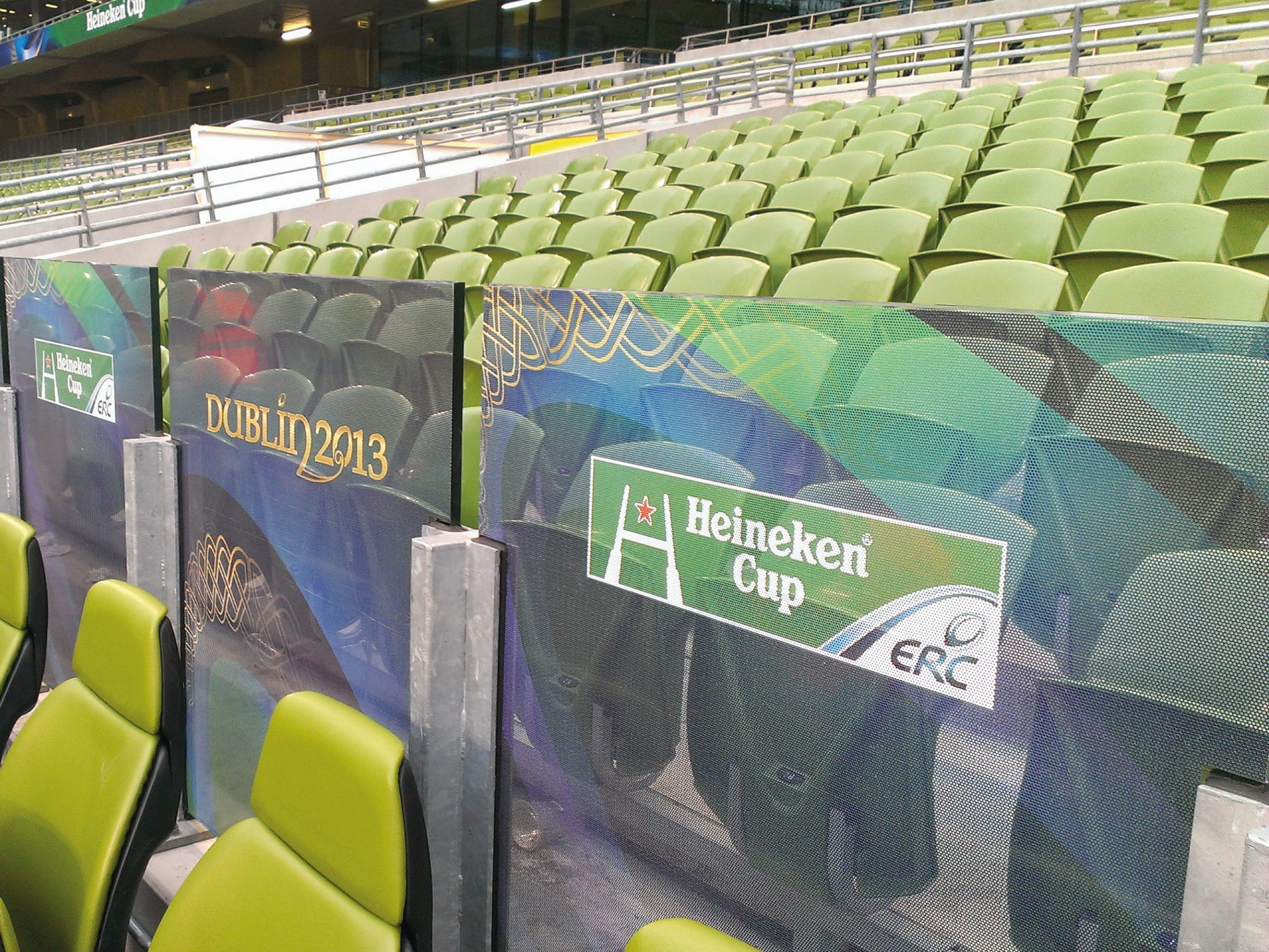 Aviva Stadium Seating Partitions 01