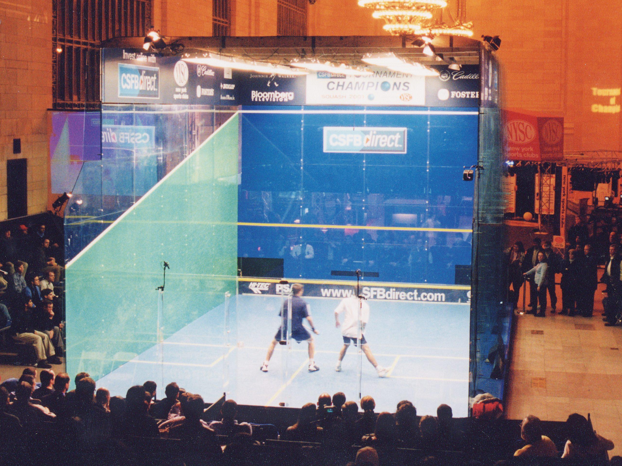 Sports & Events Squash Court 01
