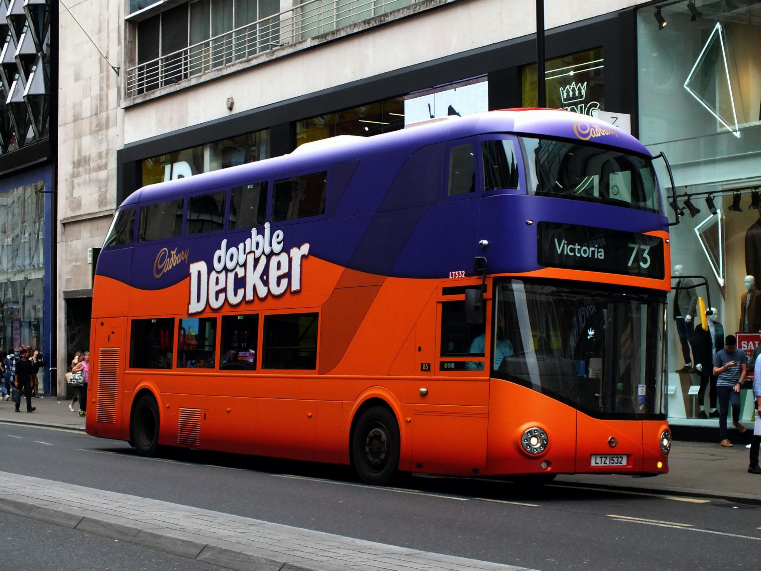 Cadbury Double Decker Bus