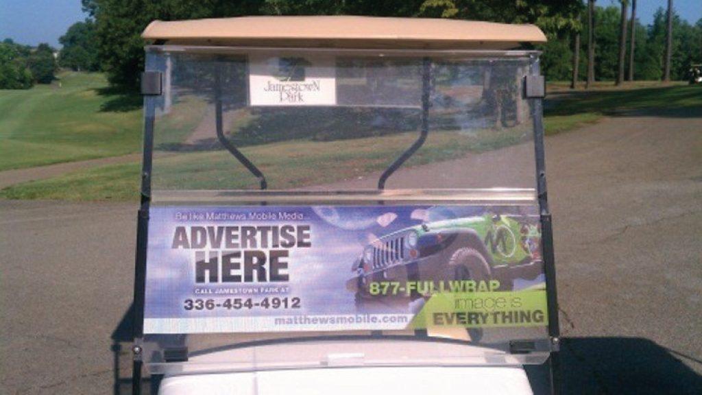 Golf Cart Application 01