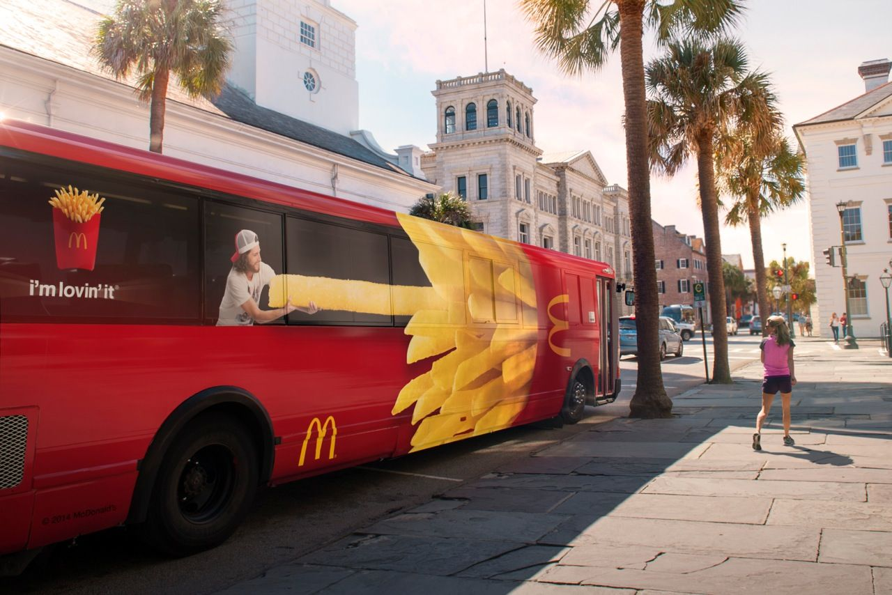 McDonald's Giant Fries