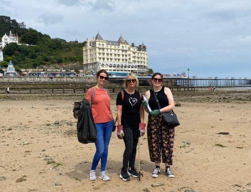 Contra Vision team help to keep our beaches clean