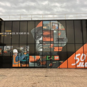 Retail Window Promotion JLG Industries