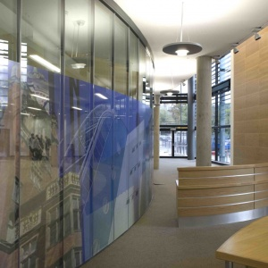 Glass Partitions Newcastle University