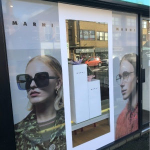 Retail Window | Framed Visual Merchandising