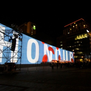 Building Wrap | Digital Projection