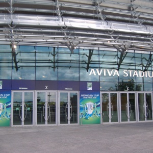 Entrance Graphics Aviva Stadium