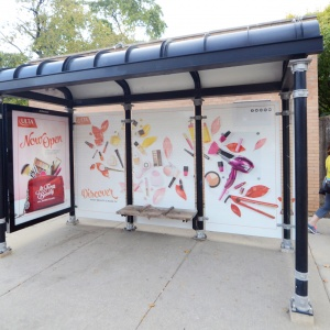 Bus Shelter | Full Wrap