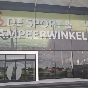 Window Graphics Van Duinkerken Sport & Kamperen