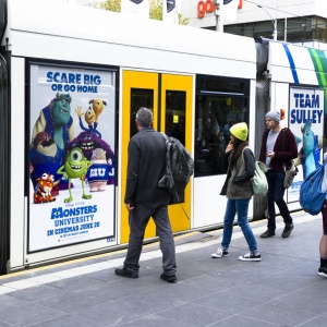 Tram Advertising | Billboard