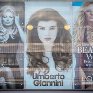 Retail Window Umberto Giannini