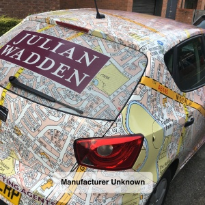 Car Wrap | Full Rear Window